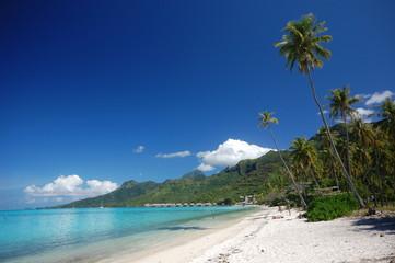 Temae Beach, Moorea Tahiti, French Polynesia