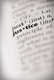 Dictionary Series - Law: justice poster