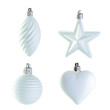 white christmas decoration