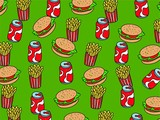 fast food wallpaper poster