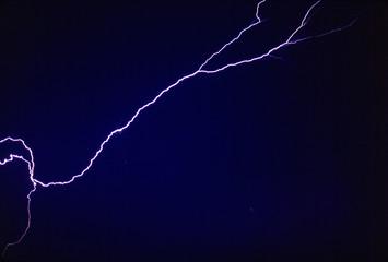 Blitz auf Ibiza diagonal