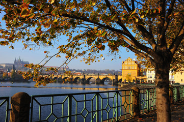 Moldavia and charles bridge