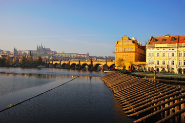 Smetana museum at the vltava river