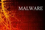 Malware Abstract poster