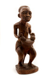 African handicraft poster