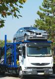 Transport véhicule accidenté poster