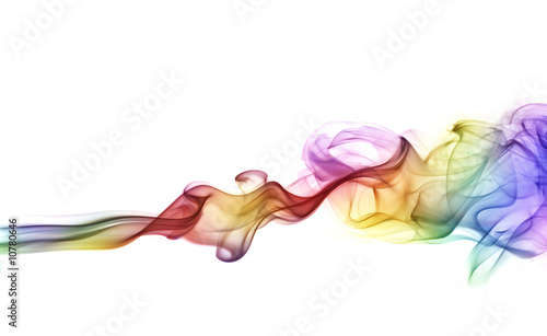 Colorful smoke - 10780646