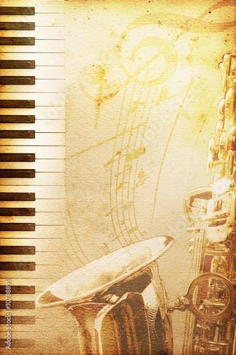 stary papier jazzowy