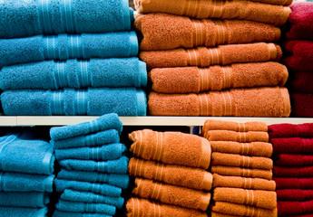 Blue and Orange Towels