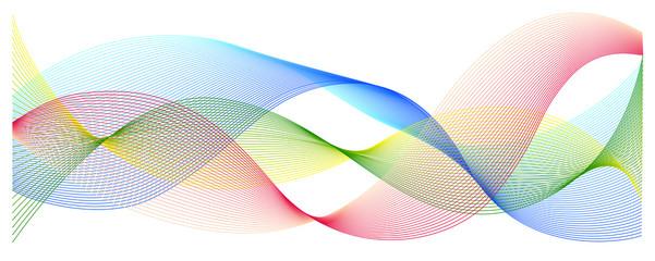 Multicoloured waves