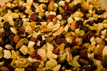 Snack Mix with Cranberries