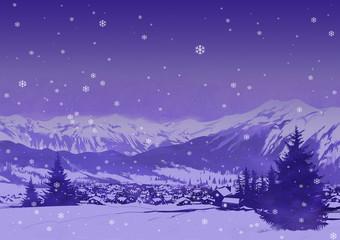 paesaggio alpino 2
