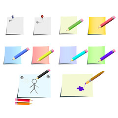 drawing and painting tools - vector