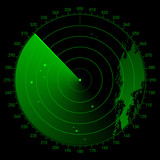 Vector sonar scope poster