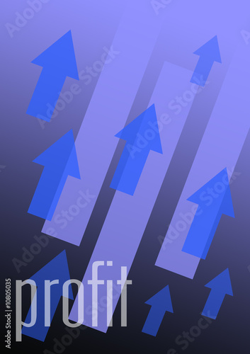 profits concept business illustration