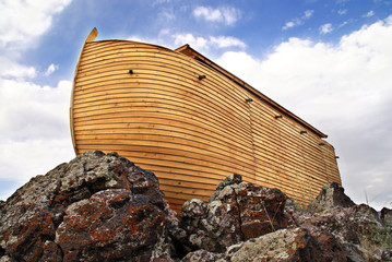 Noah's Ark close up