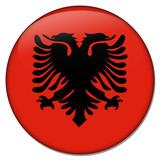 albanien albania button poster