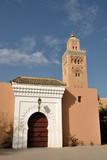 Koutoubia Mosque in Marrakesh, Morocco poster
