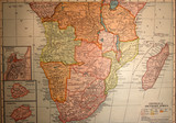 map,antique,vintage,africa,old poster
