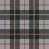 Gray plaid poster