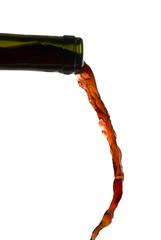Rotweinflasche 1