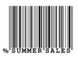 """Summer Sales"" barcode"