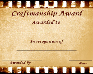 craftmanship award