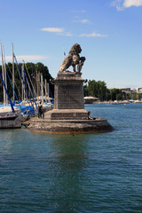 Hafeneinfahrt Zürich Enge