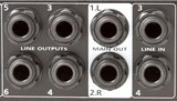 Mixer inputs and outputs poster