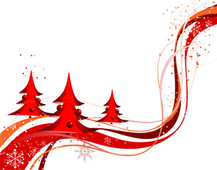 Christmas abstraction.