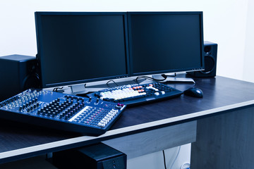 broadcast editing station