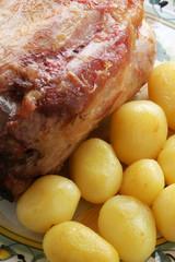 Stinco di maiale al forno - Secondi di carne - Trentino Alto A.
