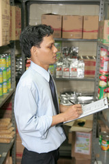 store keeper auditor