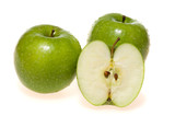Green apples (granny smith) poster