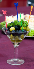 Catering - olives appetizer 2