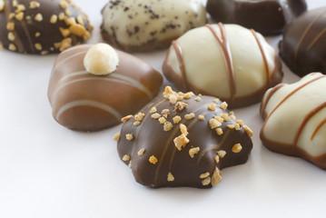 Cute christmas chocolates