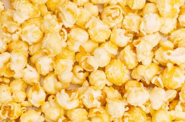Close up of background  - sweet popcorn kernels