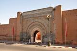 Bab Agnaou - one of nineteen gates of Marrakech, Morocco poster
