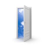 Fototapety Door to sky