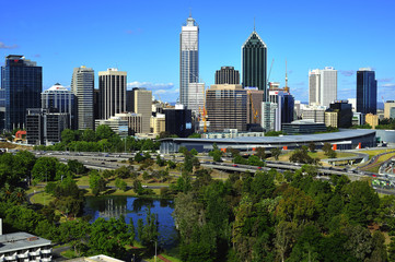 Australian city of Perth