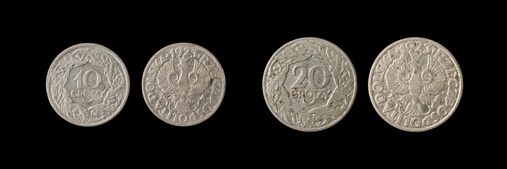 Old poland coins