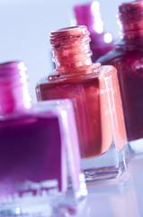Nail polish, close-up