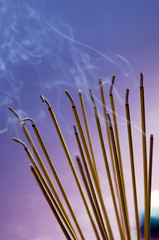 Incense sticks (close-up)