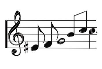 pauta de música