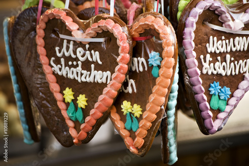 german gingerbread hearts