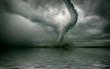 Leinwandbild Motiv tornado