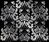 Fototapety silver victorian background