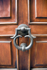 Elegant door and knocker