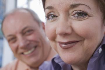 Portrait of a mature couple.