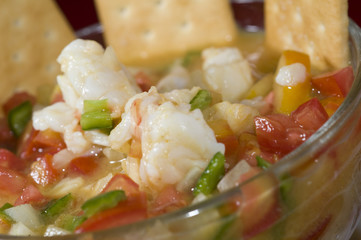 lobster ceviche nicaragua
